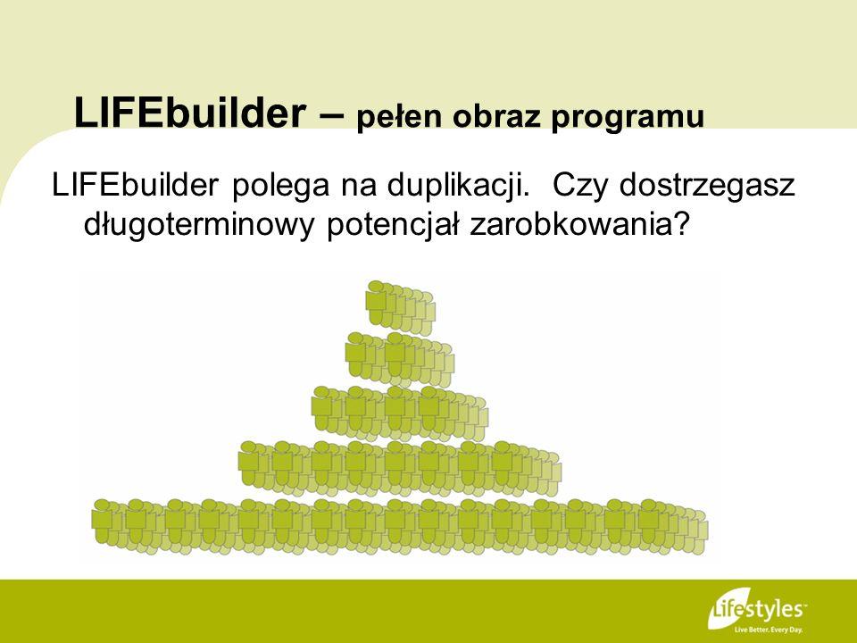 LIFEbuilder – pełen obraz programu LIFEbuilder polega na duplikacji. Czy dostrzegasz długoterminowy potencjał zarobkowania?