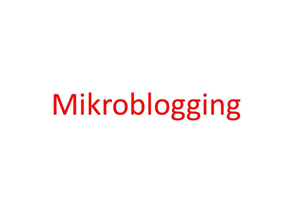Mikroblogging