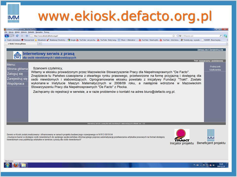 www.ekiosk.defacto.org.pl