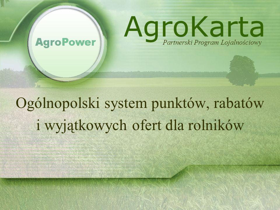 © AgroPower Sp.z o.o. www.agropower.pl Informacje podstawowe: Operator Programu: AgroPower Sp.