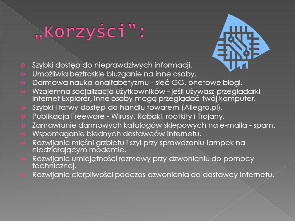 Przed działaniem hakerów nasz komputer chronią programy antywirusowe, np.: Avast Antywirus Norton Antywirus Kacpersky Ad-Aware