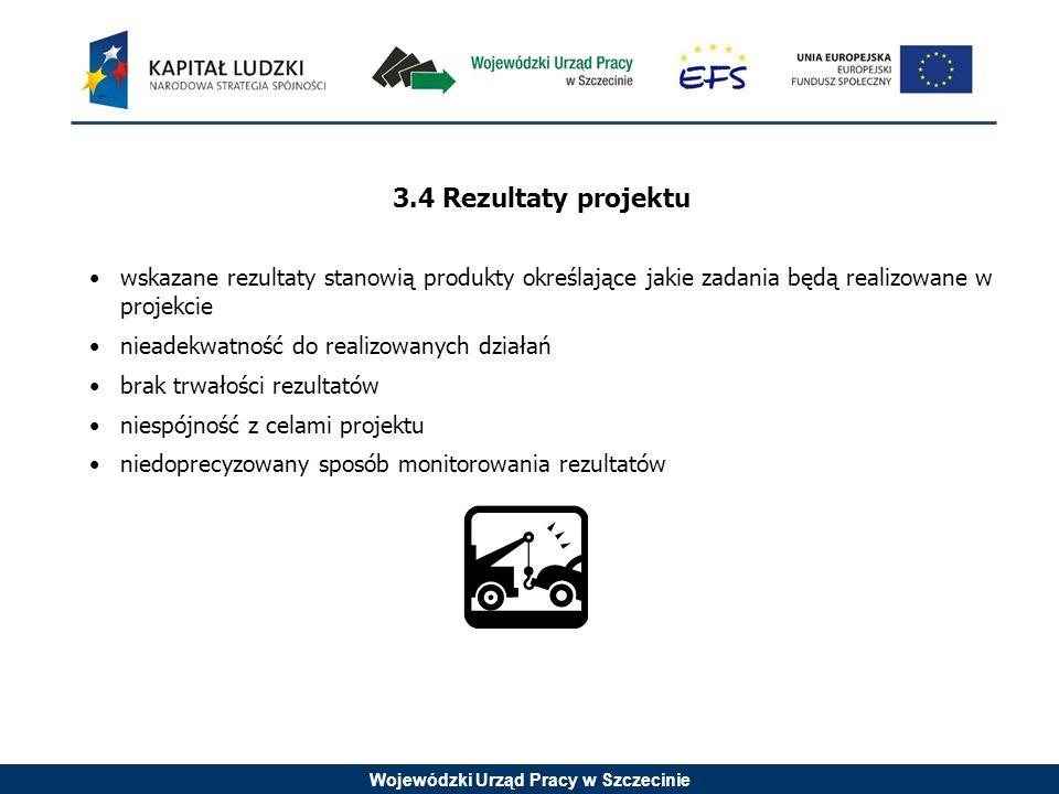 Wojewódzki Urząd Pracy w Szczecinie Typy projektów: 1.Pomoc w tworzeniu partnerstw lokalnych z udziałem m.in.