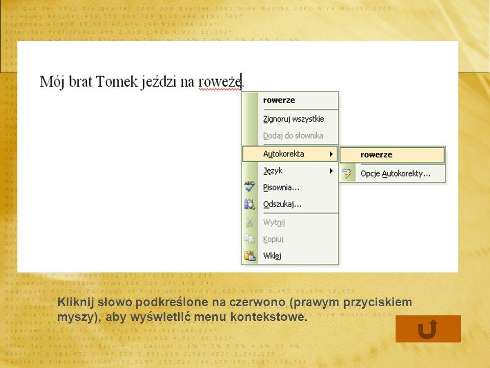 Zmiana kroju, stylu i rozmiaru czcionki Word ma zestaw narzędzi na pasku narzędzi Formatowanie, umożliwiający szybką zmianę czcionek.