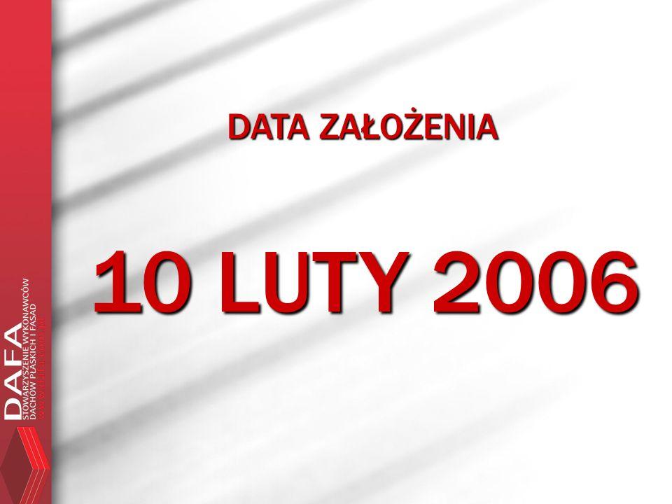 DATA ZAŁOŻENIA 10 LUTY 2006