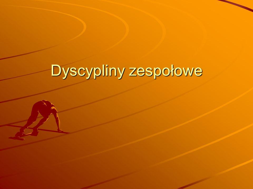 Dyscypliny zespołowe
