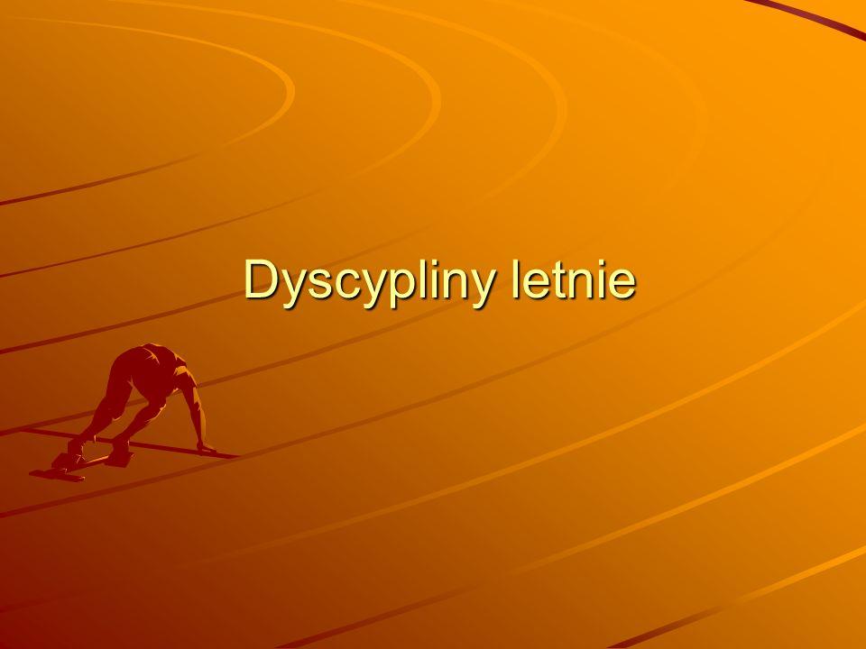 Dyscypliny letnie