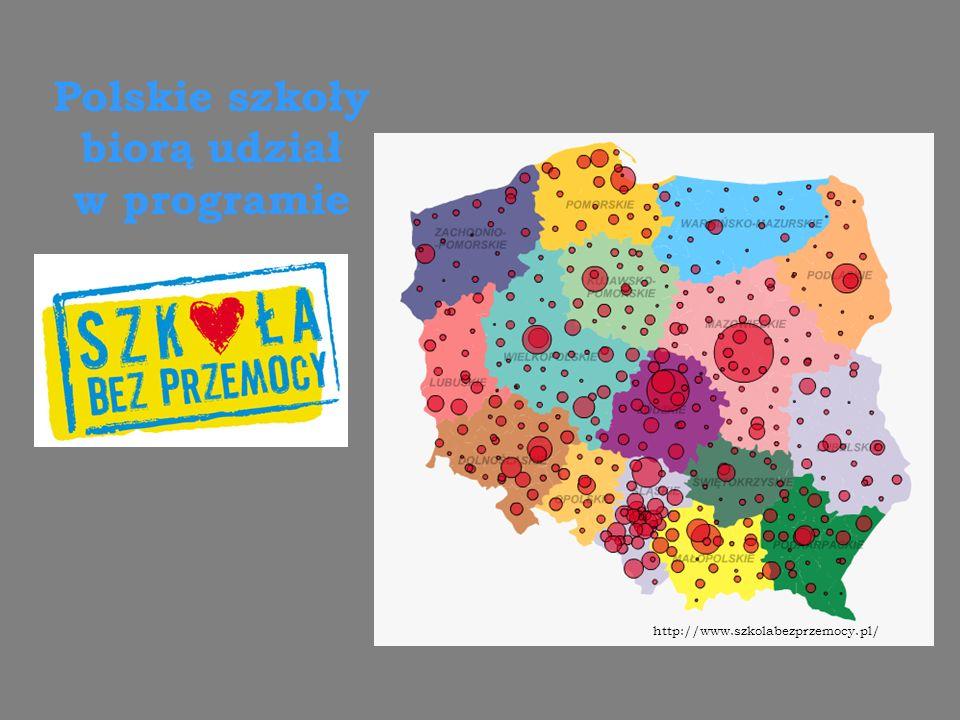 Polskie szkoły biorą udział w programie http://www.szkolabezprzemocy.pl/