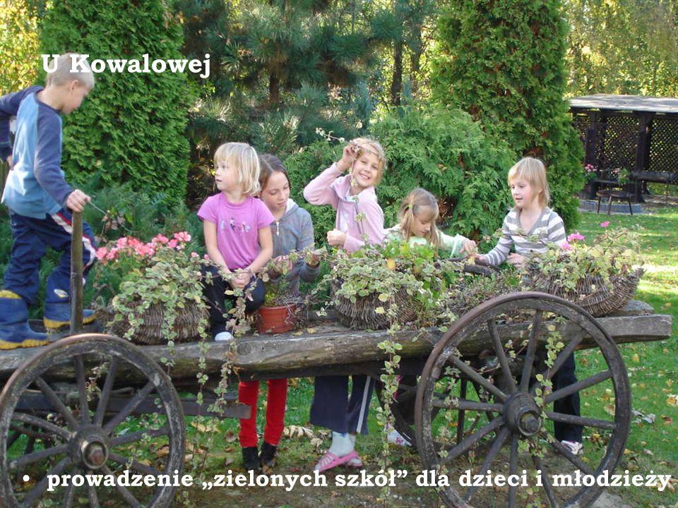 U Kowalowej prowadzenie zielonych szkół dla dzieci i młodzieży
