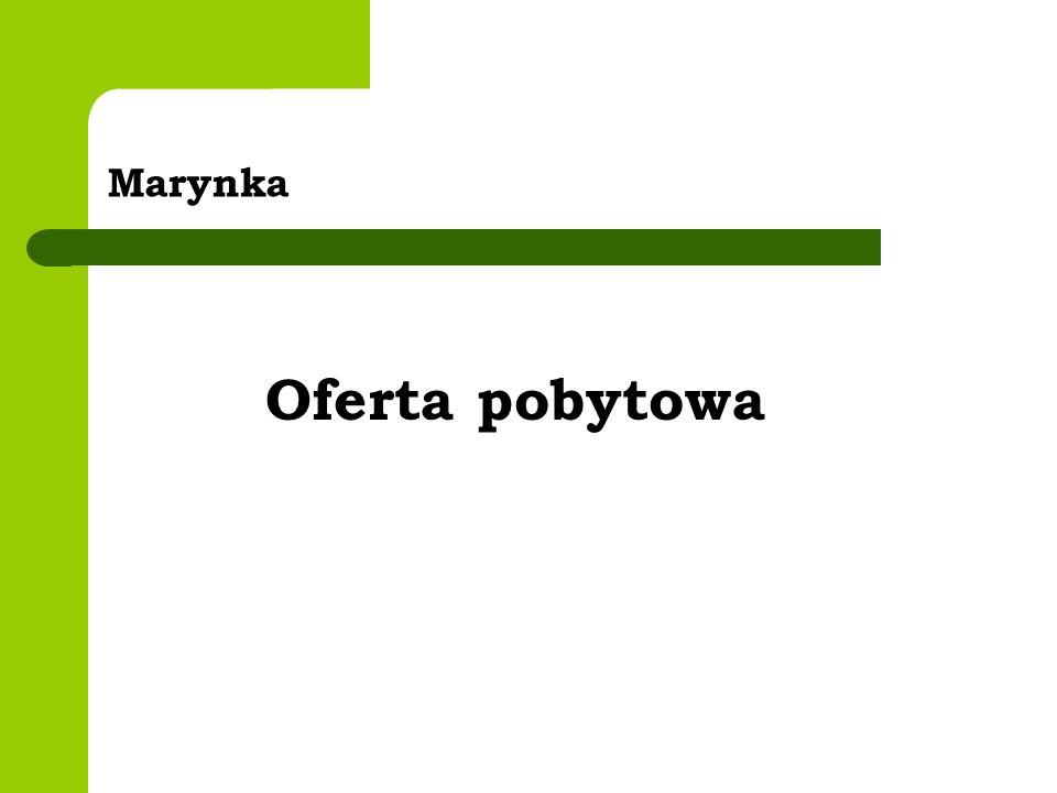 Marynka Oferta pobytowa