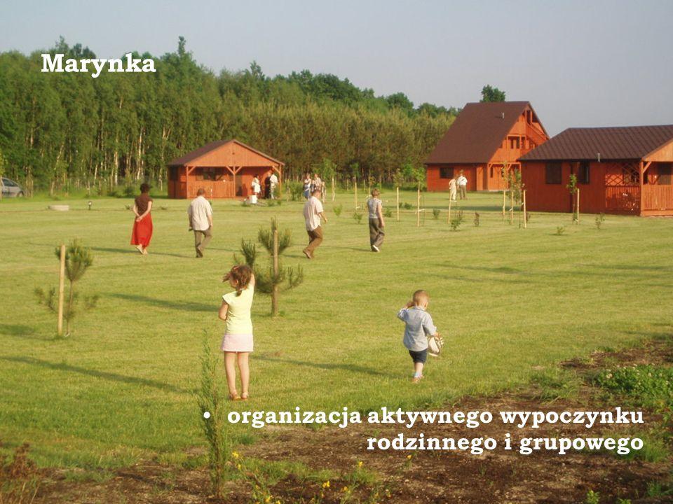 Marynka organizacja aktywnego wypoczynku rodzinnego i grupowego