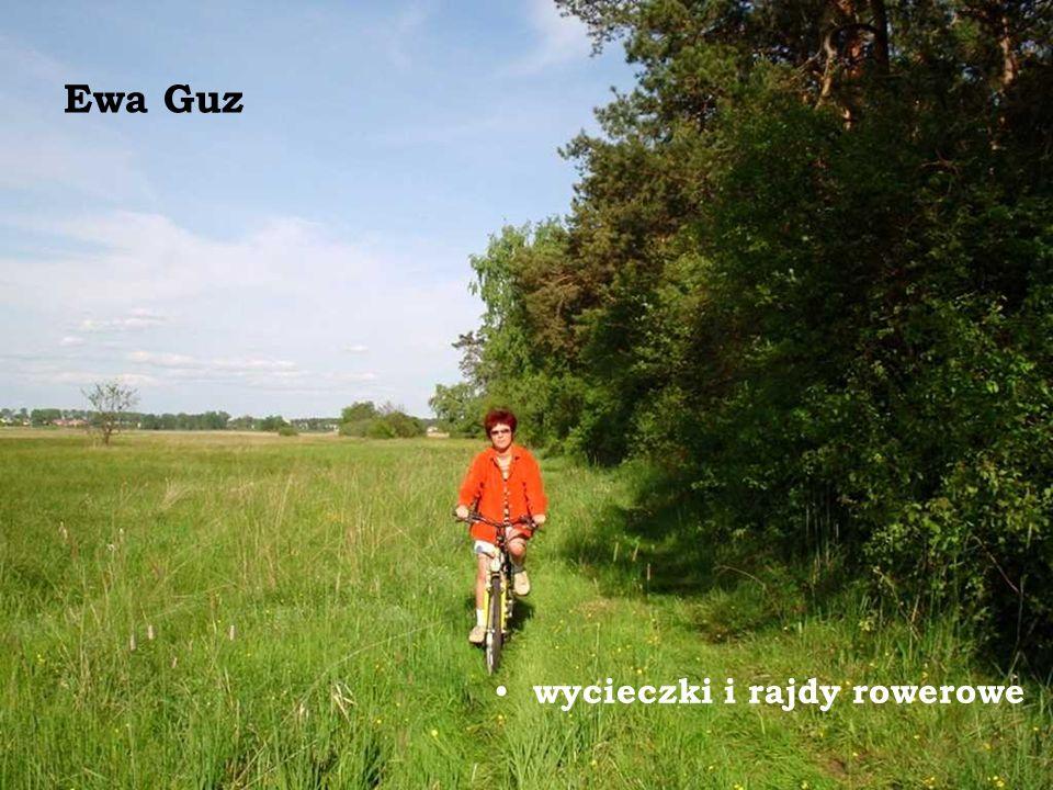 Ewa Guz wycieczki i rajdy rowerowe