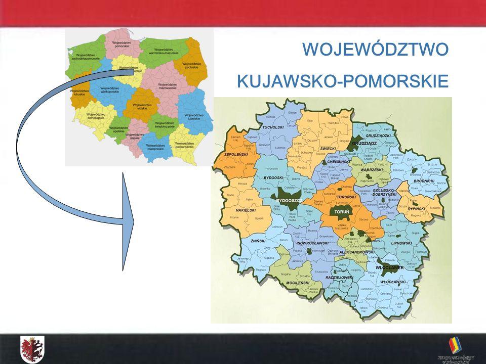 KONKURS MATEMATYCZNY DLA UCZNIÓW GIMNAZJUM ETAP WOJEWÓDZKI - 2009 WOJEWÓDZTWO KUJAWSKO-POMORSKIE Liczba gimnazjów – 394 45,7 % na wsiach 17,1 % w miastach do 20 tys.