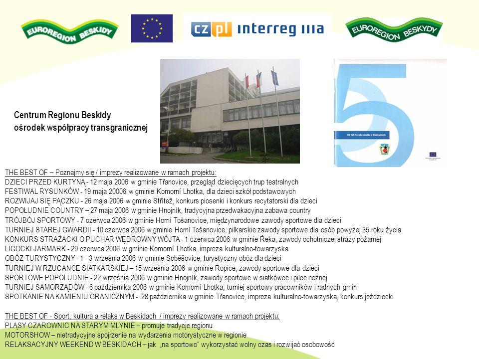 Fundusz mikroprojektów Regionu Beskidy Interreg IIIA CZ-PL