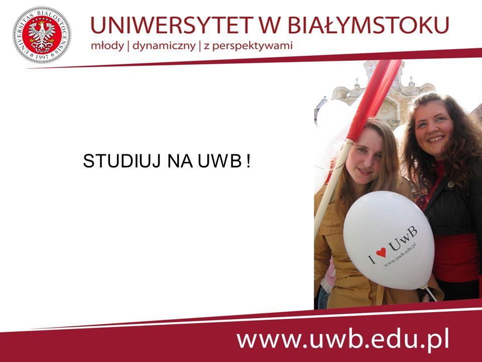 WYDZIAŁ PRAWA www.prawo.uwb.edu.pl - prawo - administracja - bezpieczeństwo narodowe - europeistyka