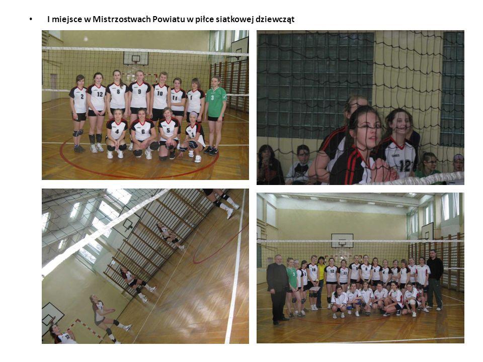 I miejsce w Półfinale Rejonu Poznań Wschód w piłce siatkowej dziewcząt