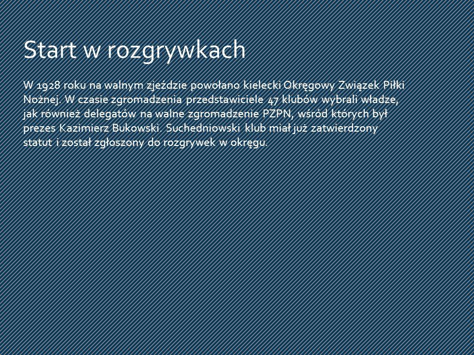 Gra w półfinale Pucharu Polski na szczeblu okręgu świętokrzyskiego.