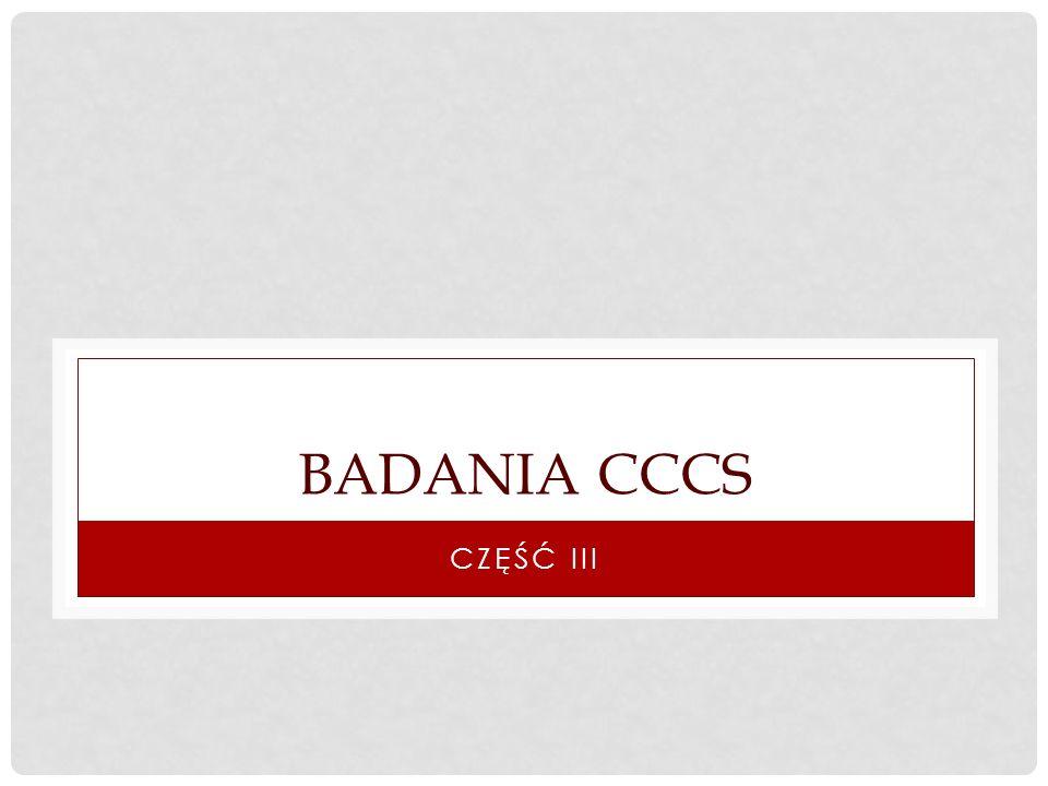 BADANIA CCCS CZĘŚĆ III