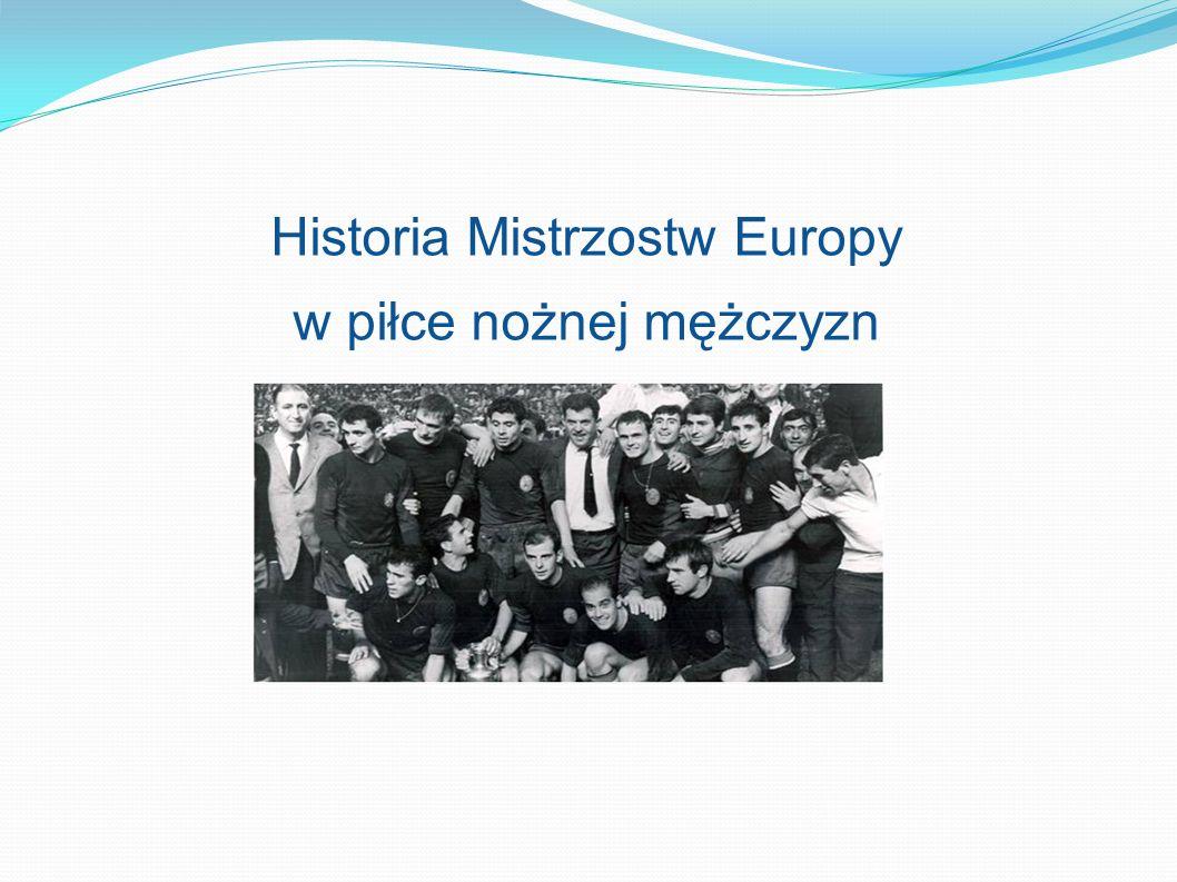 Historia Mistrzostw Europy w piłce nożnej mężczyzn