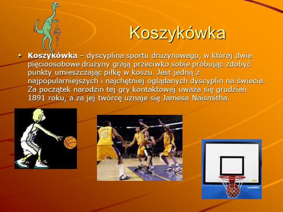 Koszykówka Koszykówka Koszykówka – dyscyplina sportu drużynowego, w której dwie pięcioosobowe drużyny grają przeciwko sobie próbując zdobyć punkty umi