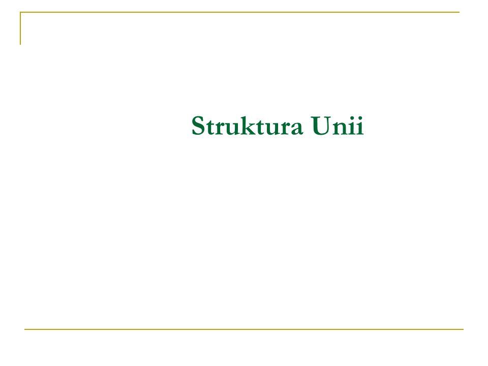 Struktura Unii