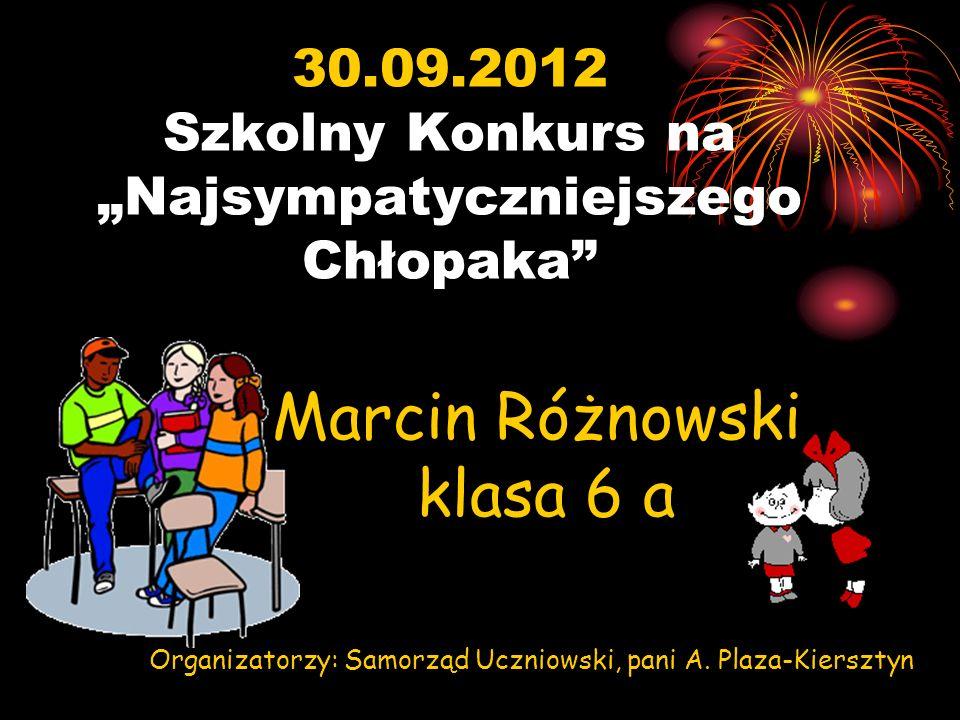 Listopad - 2012r.Konkurs Ogólnopolski Zachowaj Trzeźwy Umysł Opiekun: pani I.