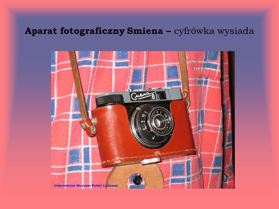 Aparat fotograficzny Smiena – cyfrówka wysiada