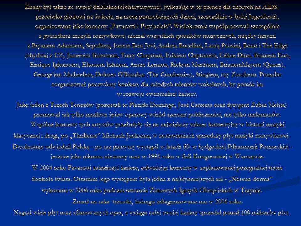 - Portrait Of Pavarotti 2001 CD - Portrait Of Pavarotti 2001 CD Portrait Of PavarottiPortrait Of Pavarotti Three Tenors: Best Loved Arias 2001 CD Three Tenors: Best Loved Arias 2001 CD Three Tenors: Best Loved Arias Three Tenors: Best Loved Arias Pavarotti & Friends For Cambodia & Tibet 2000 CD Pavarotti & Friends For Cambodia & Tibet 2000 CD Pavarotti & Friends For Cambodia & Tibet Pavarotti & Friends For Cambodia & Tibet Romantic Arias 2000 CD Romantic Arias 2000 CD Romantic Arias Romantic Arias Christmas With Luciano Pavarotti & Jose Carreras [#2] 1999 CD Christmas With Luciano Pavarotti & Jose Carreras [#2] 1999 CD Christmas With Luciano Pavarotti & Jose Carreras [#2] Christmas With Luciano Pavarotti & Jose Carreras [#2] Christmas With Luciano Pavarotti 1999 CD Christmas With Luciano Pavarotti 1999 CD Christmas With Luciano Pavarotti Christmas With Luciano Pavarotti Christmas With Luciano Pavarotti & Jose Carreras 1999 CD Christmas With Luciano Pavarotti & Jose Carreras 1999 CD Christmas With Luciano Pavarotti & Jose Carreras Christmas With Luciano Pavarotti & Jose Carreras Pavarotti & Friends: For Guatemala & Kosovo 1999 CD Pavarotti & Friends: For Guatemala & Kosovo 1999 CD Pavarotti & Friends: For Guatemala & Kosovo Pavarotti & Friends: For Guatemala & Kosovo Recital 1999 CD Recital 1999 CD Recital Recital Sound & Sensation 1999 CD Sound & Sensation 1999 CD Sound & Sensation Sound & Sensation For The Children Of Liberia 1998 CD For The Children Of Liberia 1998 CD For The Children Of Liberia For The Children Of Liberia Pavarotti Magic, Vol.