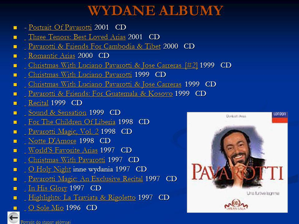 - Portrait Of Pavarotti 2001 CD - Portrait Of Pavarotti 2001 CD Portrait Of PavarottiPortrait Of Pavarotti Three Tenors: Best Loved Arias 2001 CD Thre
