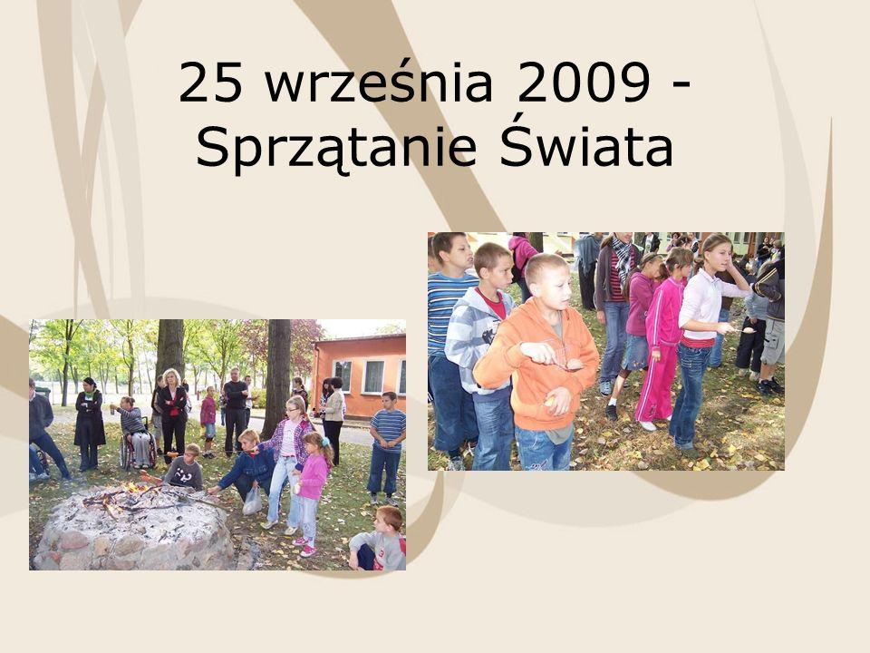 25 września 2009 - Sprzątanie Świata