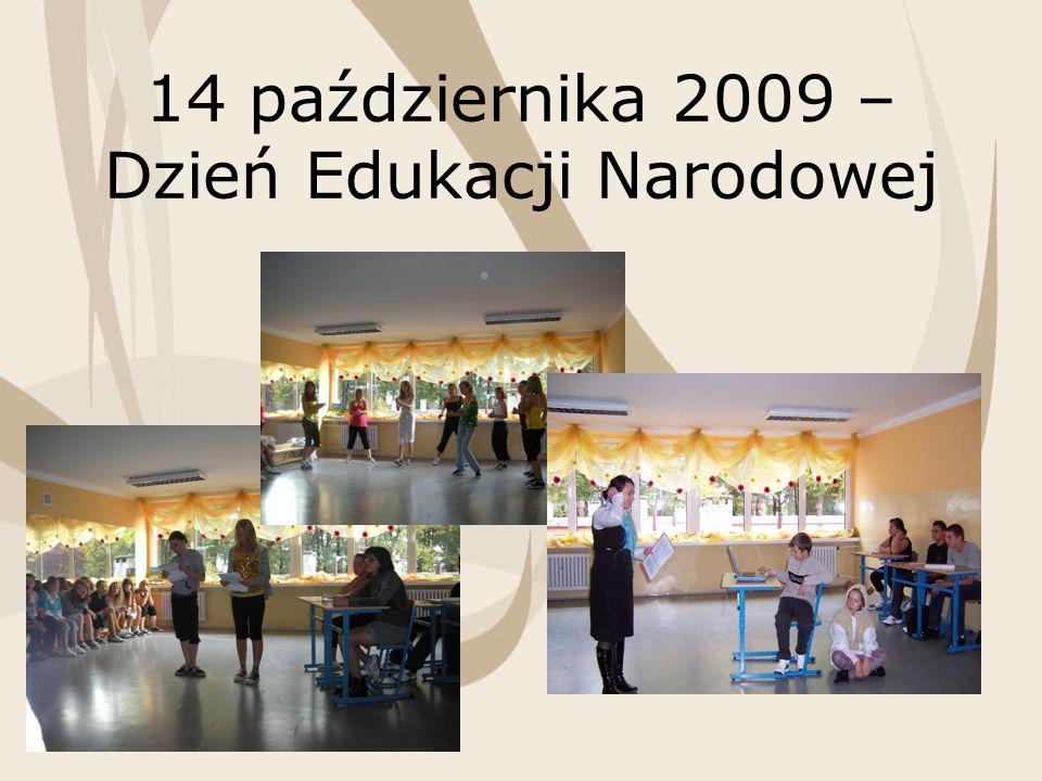 14 października 2009 – Dzień Edukacji Narodowej