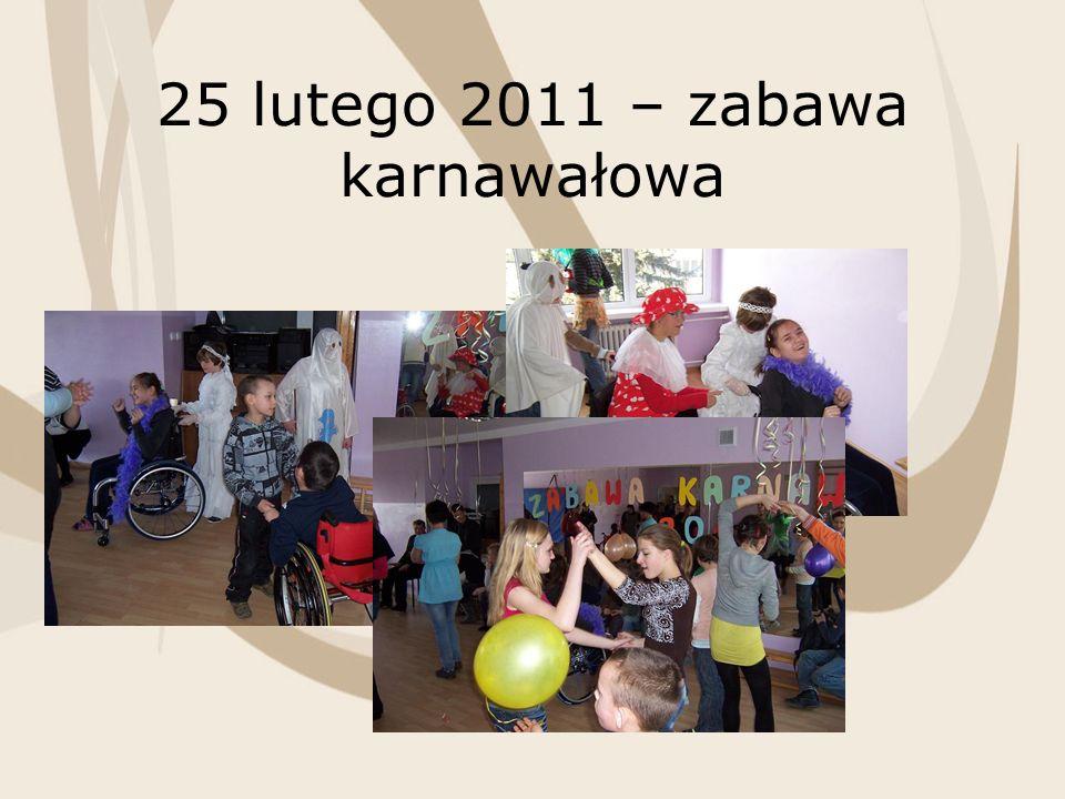 25 lutego 2011 – zabawa karnawałowa