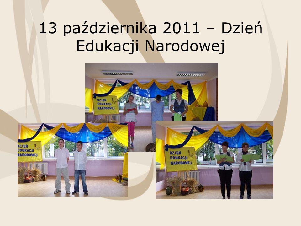 13 października 2011 – Dzień Edukacji Narodowej