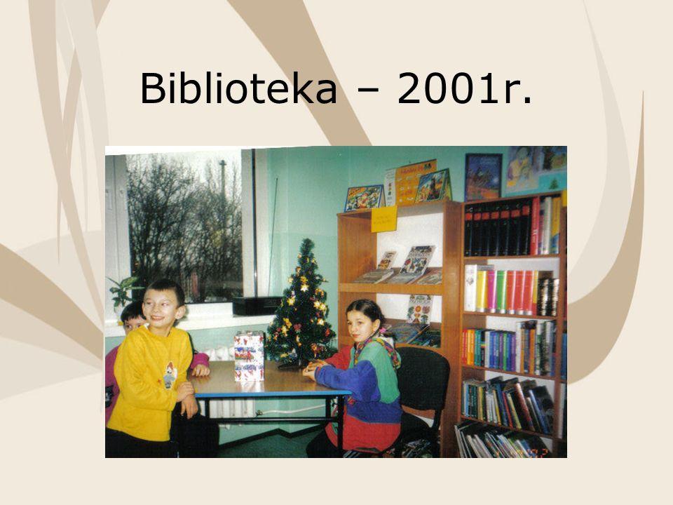 Biblioteka – 2001r.
