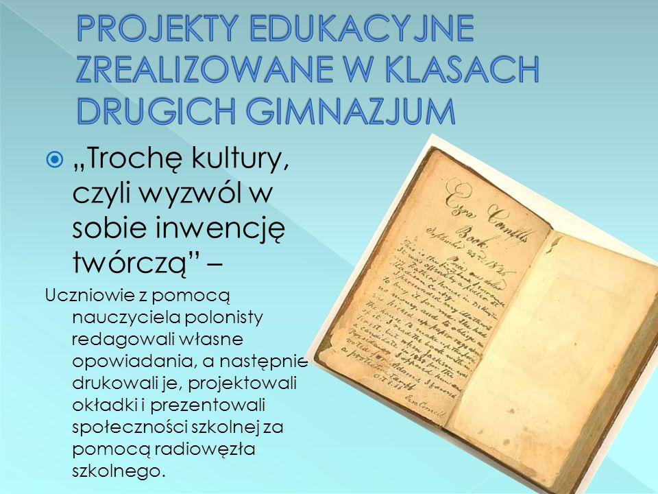 Zabytki Ostaszewa i okolic – uczniowie wraz z nauczycielem historii opracowali prezentację o najpiękniejszych miejscach i zabytkach naszej gminy