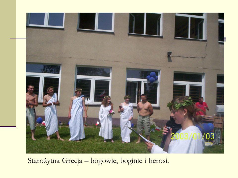 Starożytna Grecja – bogowie, boginie i herosi.