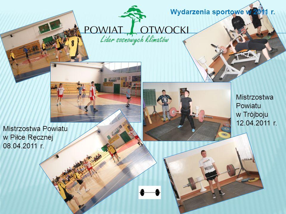 Mistrzostwa Powiatu w Piłce Ręcznej 08.04.2011 r.Mistrzostwa Powiatu w Trójboju 12.04.2011 r.