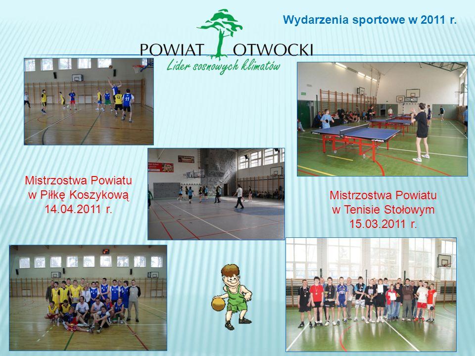 Mistrzostwa Powiatu w Piłkę Koszykową 14.04.2011 r.