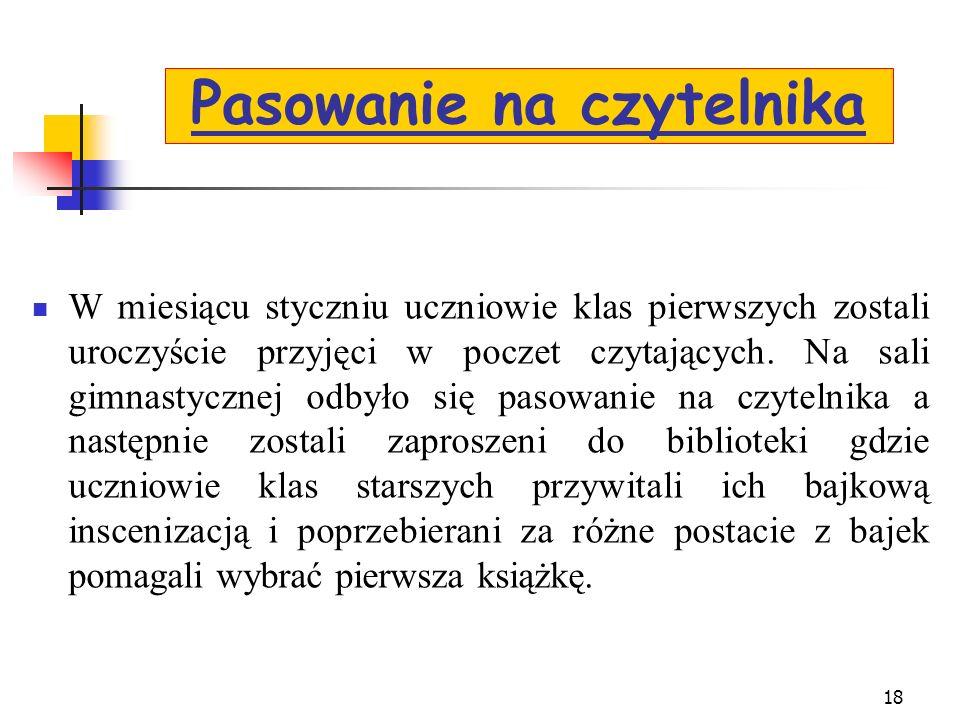 9 września 2011 roku odbyła się wycieczka autokarowa dla klas III do Muzeum Miniaturowej Książki i do drukarni w Katowicach. Uczniowie mieli możliwość