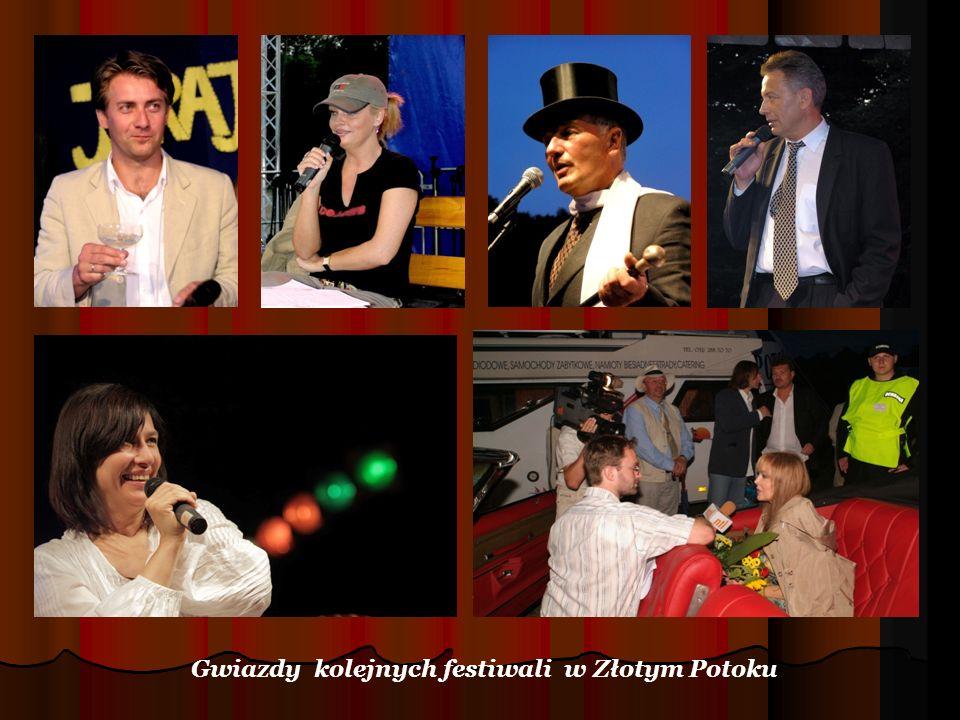 Gwiazdy kolejnych festiwali w Złotym Potoku
