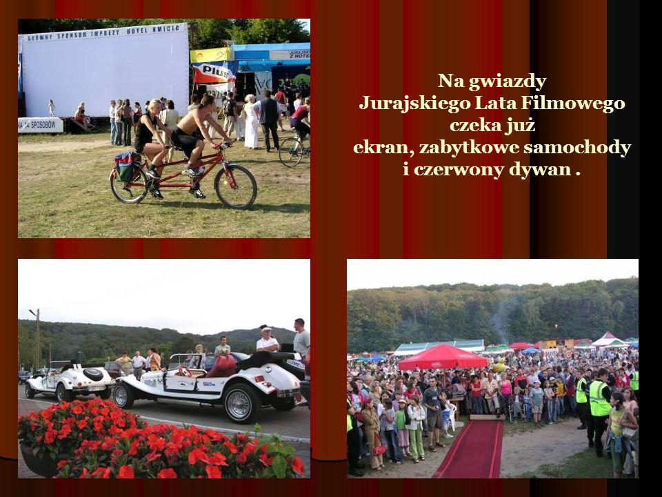 Na gwiazdy Jurajskiego Lata Filmowego czeka już ekran, zabytkowe samochody i czerwony dywan.