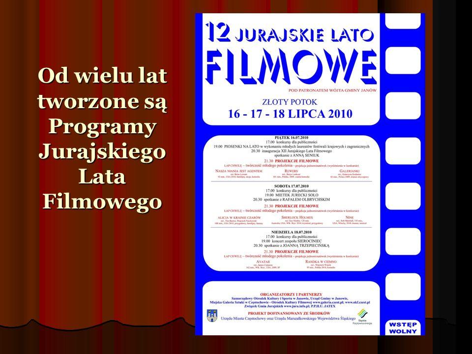 Od wielu lat tworzone są Programy Jurajskiego Lata Filmowego