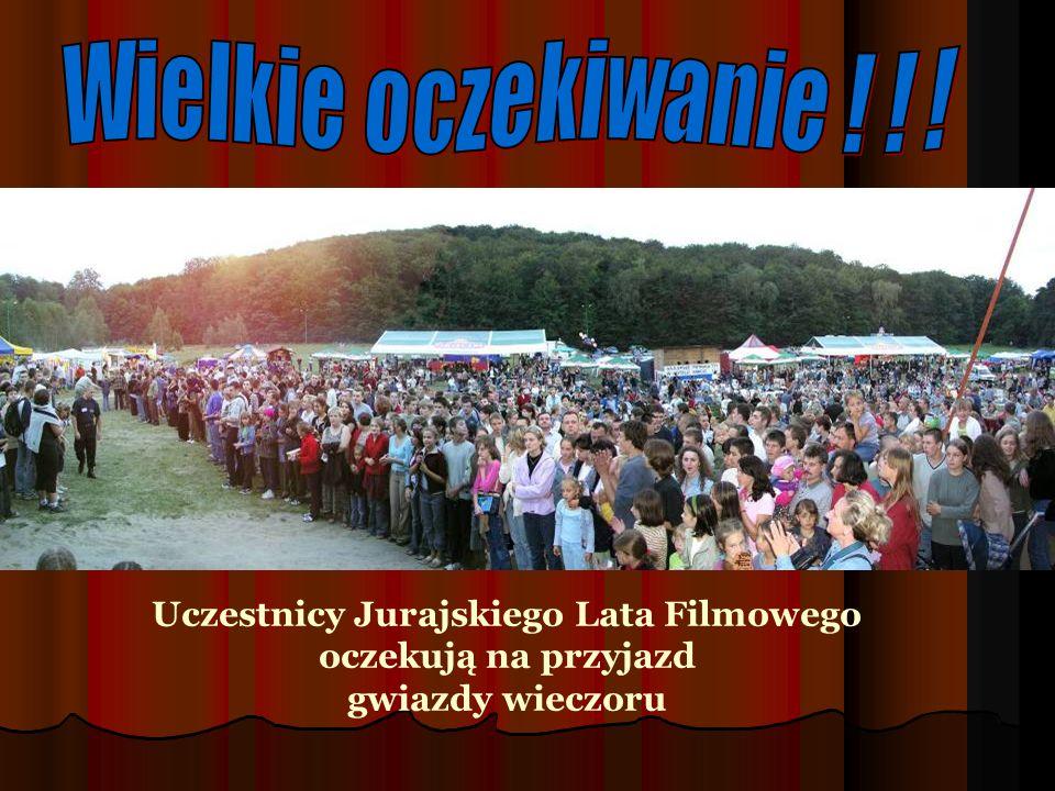 Janusz Yanina Iwański z zespołem Zespół THE POSTMEN Zespoły Jurajskiego Lata Filmowego