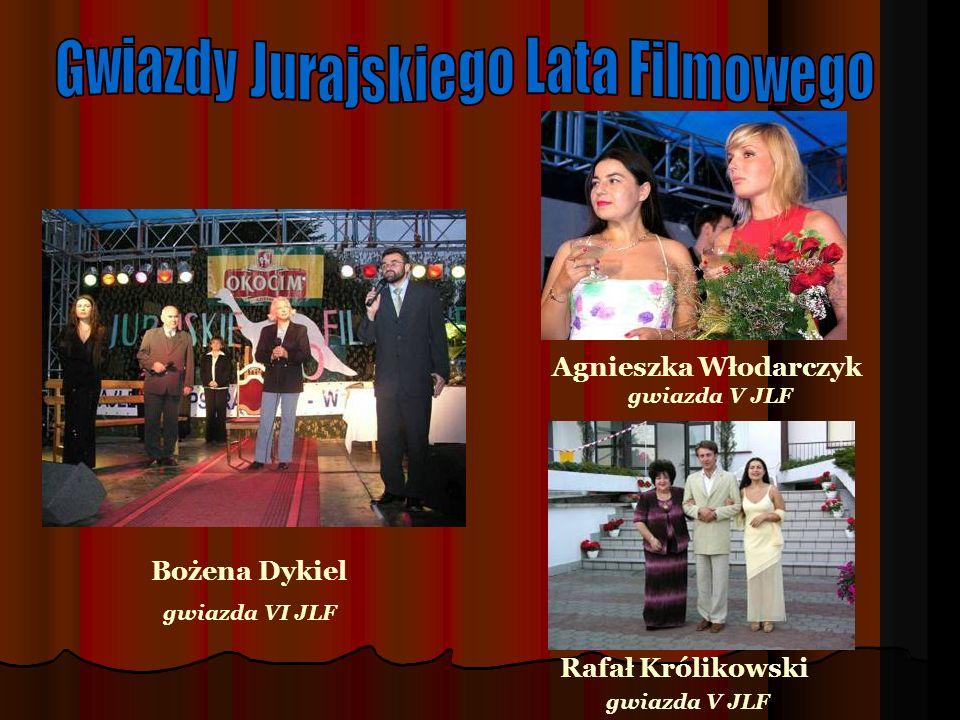 Bożena Dykiel gwiazda VI JLF Agnieszka Włodarczyk gwiazda V JLF Rafał Królikowski gwiazda V JLF