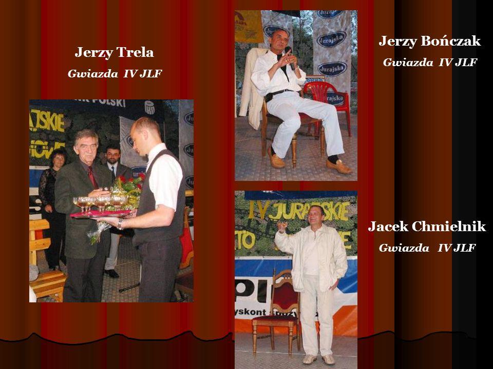 Jerzy Trela Gwiazda IV JLF Jerzy Bończak Gwiazda IV JLF Jacek Chmielnik Gwiazda IV JLF