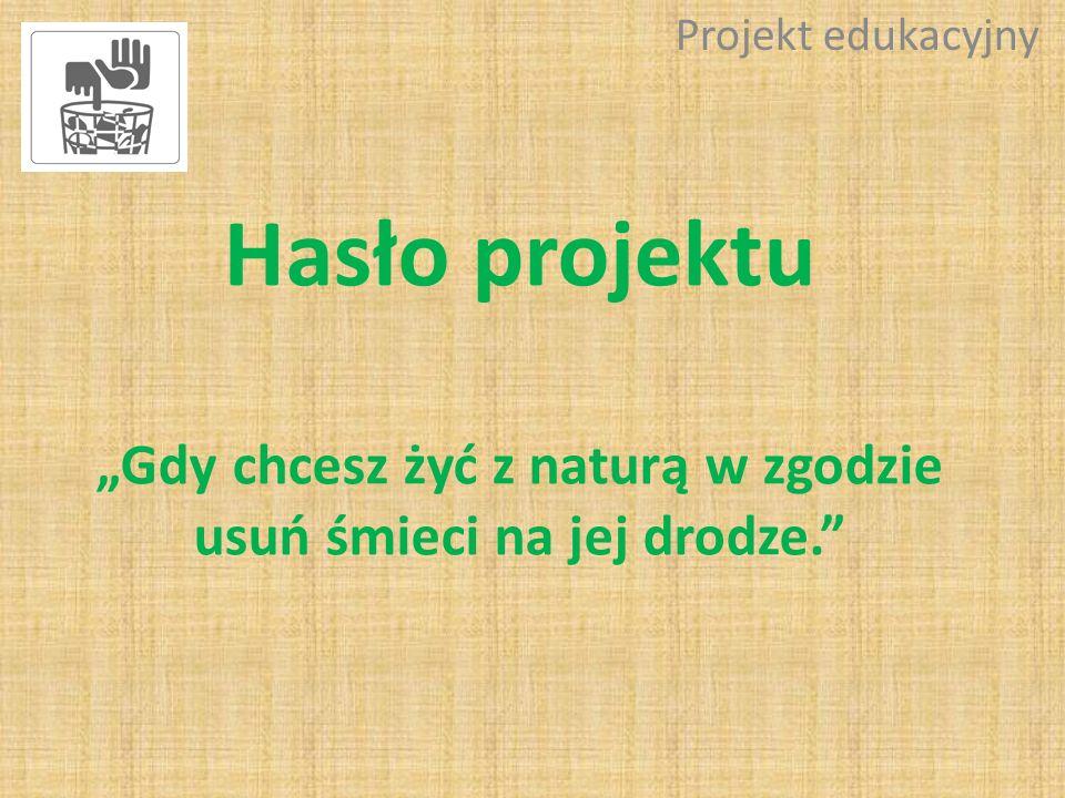 Ankieta na temat ochrony środowiska Projekt edukacyjny Wyniki: 3.