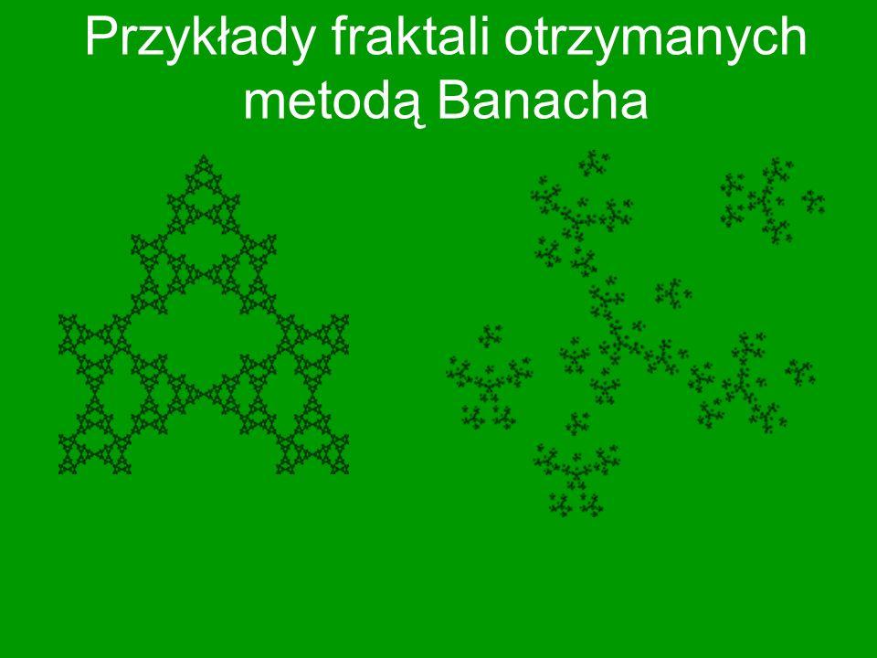 Fraktale stworzone przez Sierpińskiego