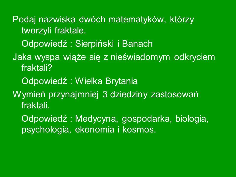 Literatura http://www.matinfa.webpark.pl/index/matma/ ciekaw/t_pascala.html http://www.zhr.pl/~p.buczkowski/trojkat.php http://kolos.math.uni.lodz.pl/~user/user/?p=p liki/trojkat_pascala Wyszukiwarka google.pl Tablice matematyczne, autor Tomasz Szymczyk, wydawnictwo Park
