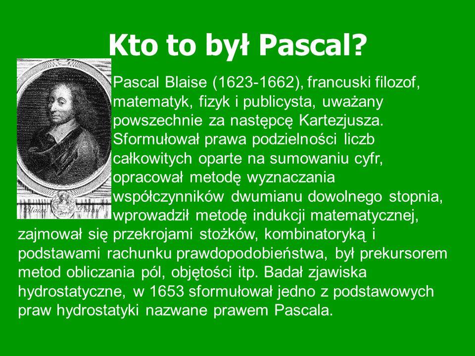 Historia Trójkąta Pascala Uważa się, że trójkąt ten został odkryty na przełomie XI i XII w.