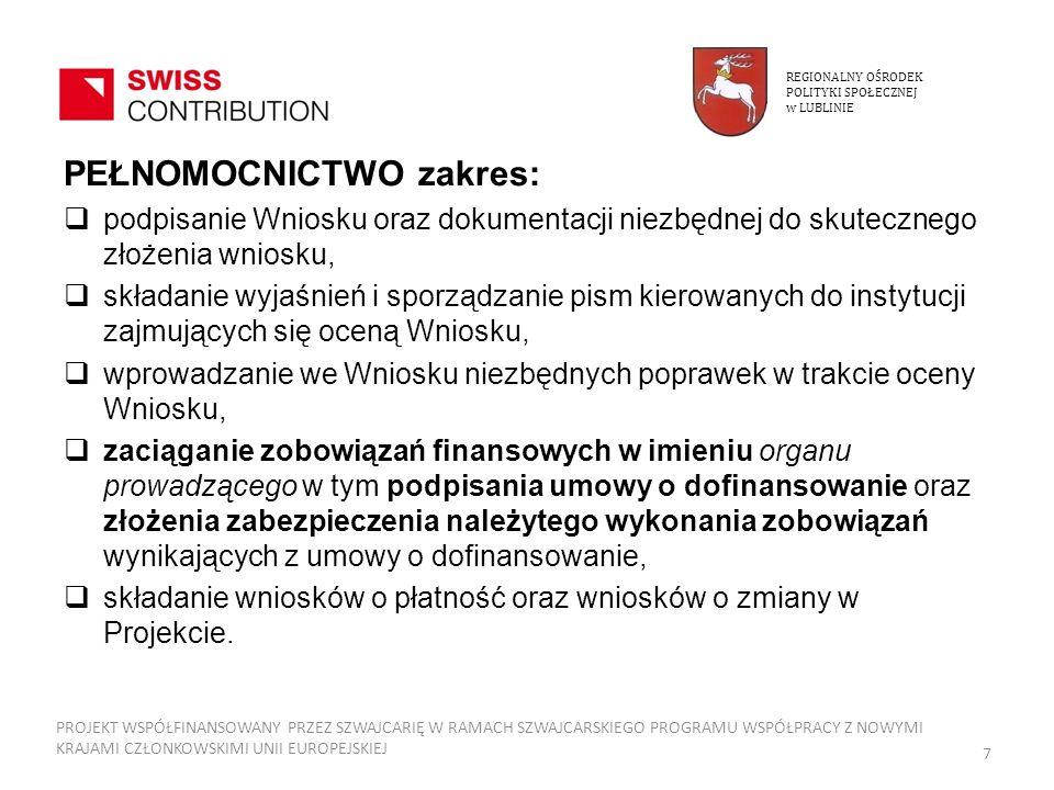 Studium wykonalności 6.T RWAŁOŚĆ INSTYTUCJONALNA PROJEKTU 6.1.