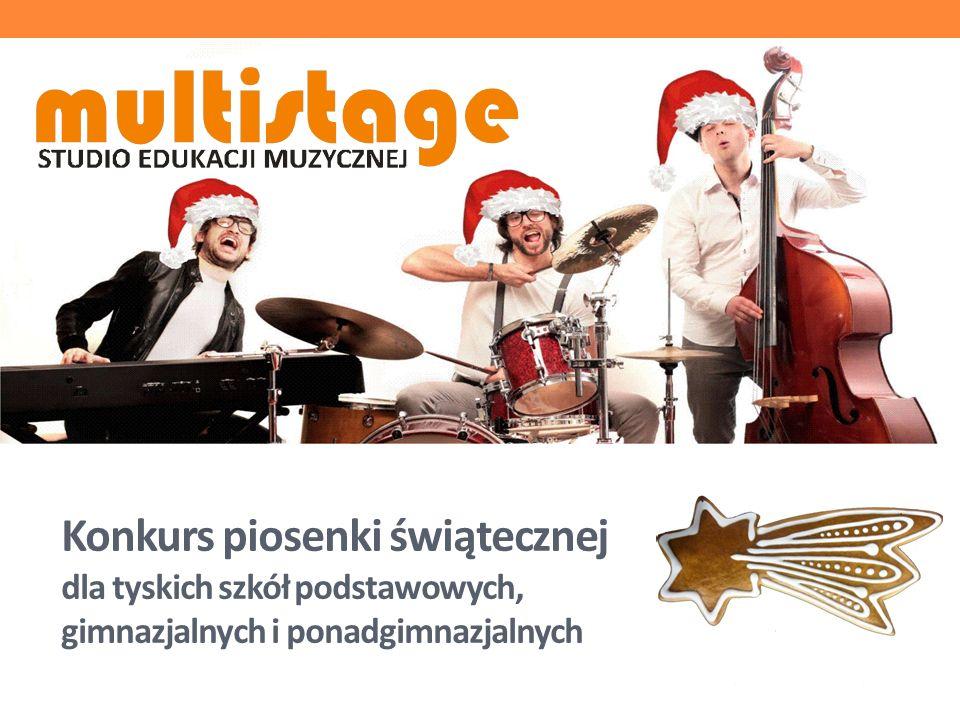 Organizatorzy konkursu Konkurs organizowany jest przez MULTISTAGE Studio Edukacji Muzycznej w Tychach i jest objęty patronatem MZO w Tychach.